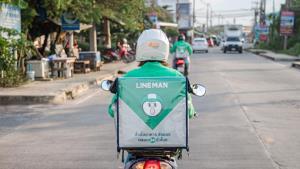 LINE MAN ประกาศเว้นค่าส่งออเดอร์คนละครึ่ง ในระยะ 5 กิโลเมตรแรก