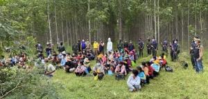 สกัดได้อีก 104 แรงงานกัมพูชาลอบข้ามชายแดนสระแก้ว หวังเข้าทำงานในพื้นที่ชั้นในของไทย